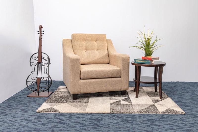 Sofa and Corner Table